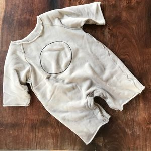 Guno Embroidered French Terry Coverall (12M)
